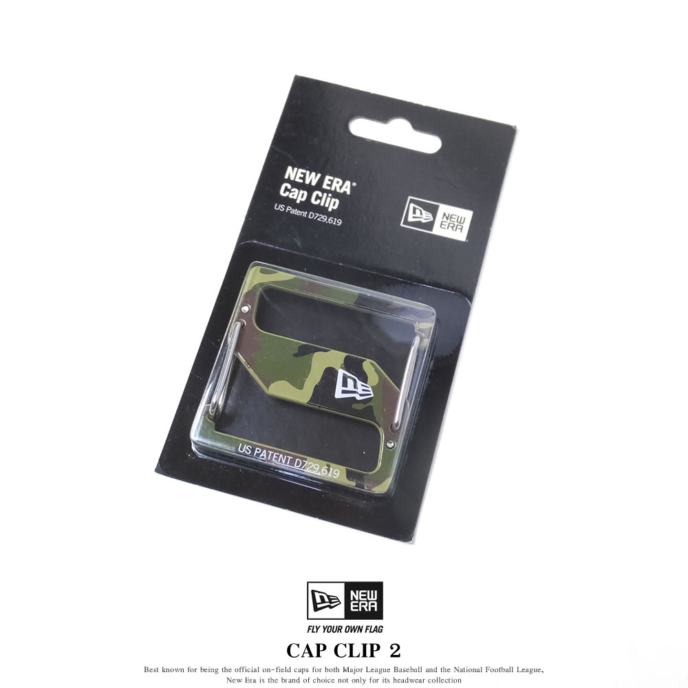 NEW ERA ニューエラ キャップクリップ CAP CLIP 2 ウッドランドカモ/シルバー (11556660)