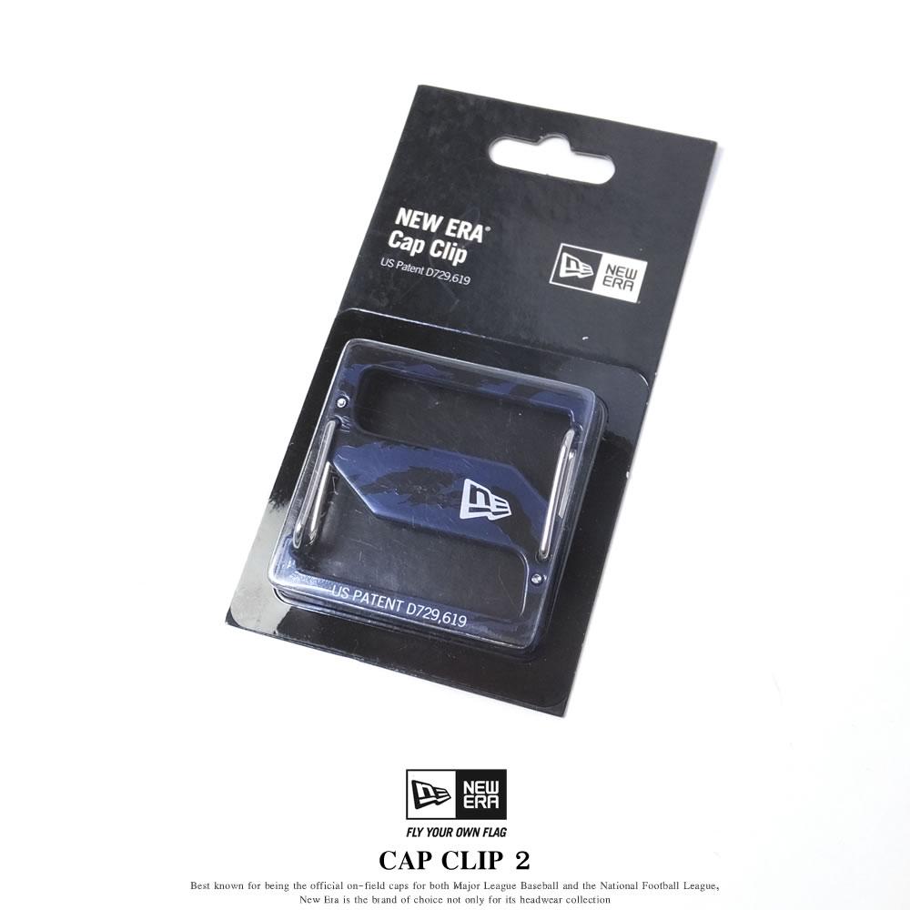 NEW ERA ニューエラ キャップクリップ CAP CLIP 2 タイガーストライプカモネイビー/シルバー (11556661)