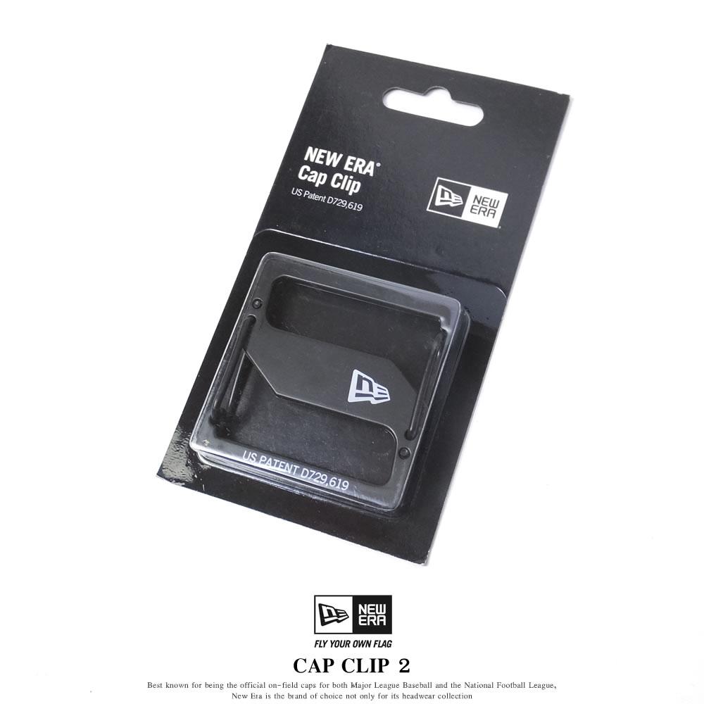 New Era (ニューエラ) キャップクリップ CAP CLIP 2 ブラック/ブラック (11556667)