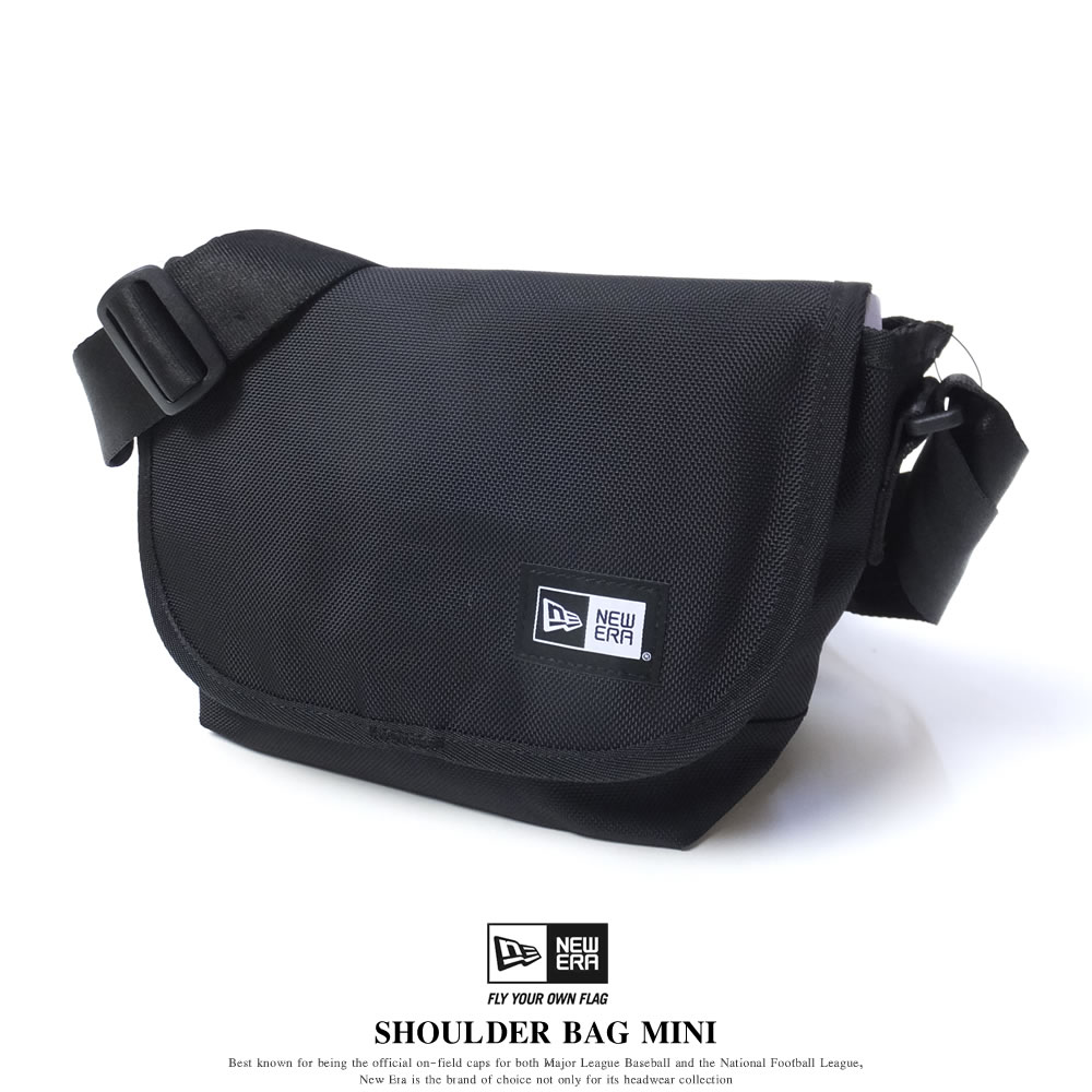 NEW ERA ニューエラ ショルダーバッグ ミニ SHOULDER BAG MINI ブラック (11556617)