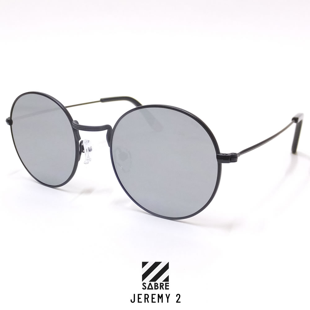SABRE セイバー サングラス JEREMY 2 BLACK METAL/SILVER MIRROR (SS8-503BM-SM-J)