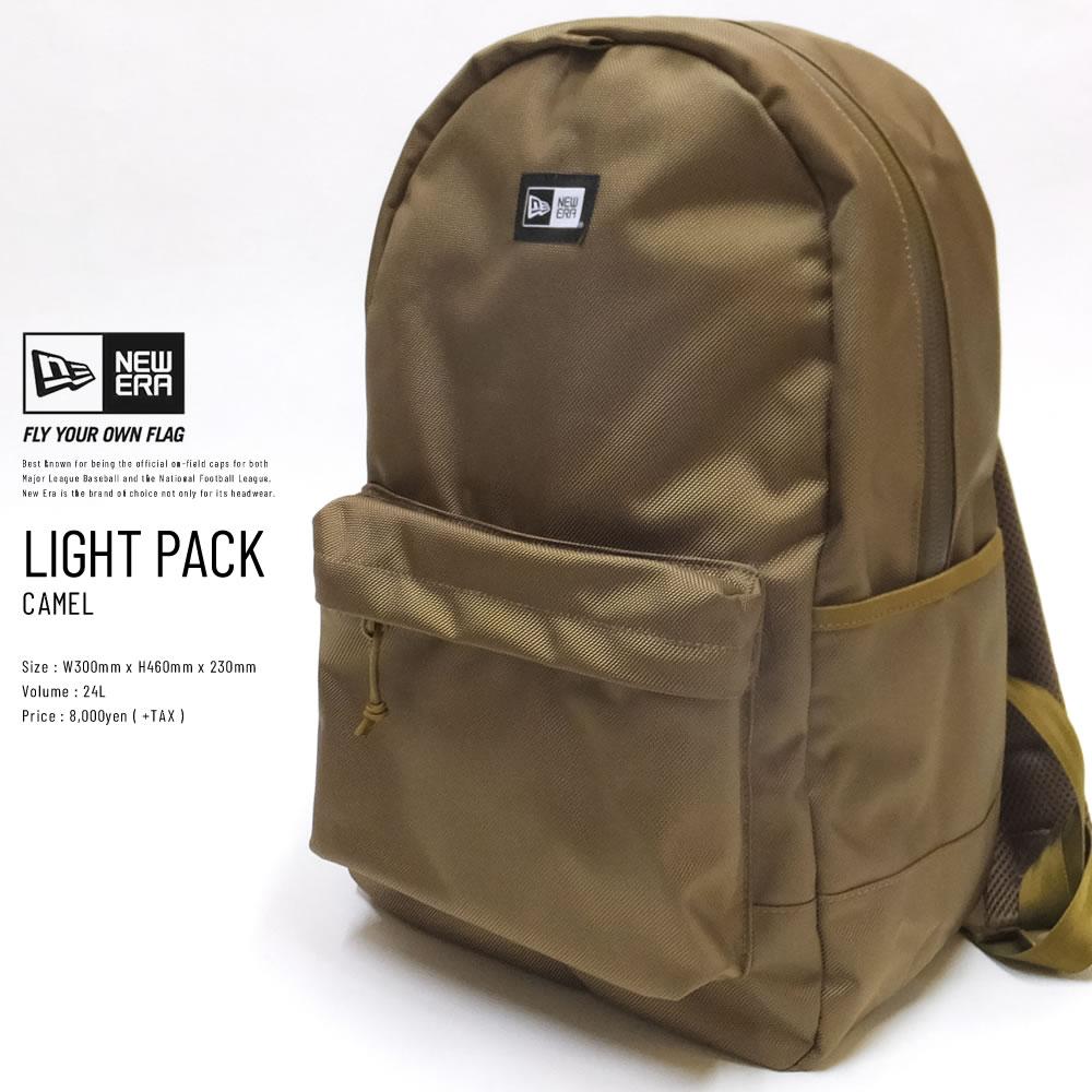 NEW ERA ニューエラ ライトパック LIGHT PACK キャメル (11783291)
