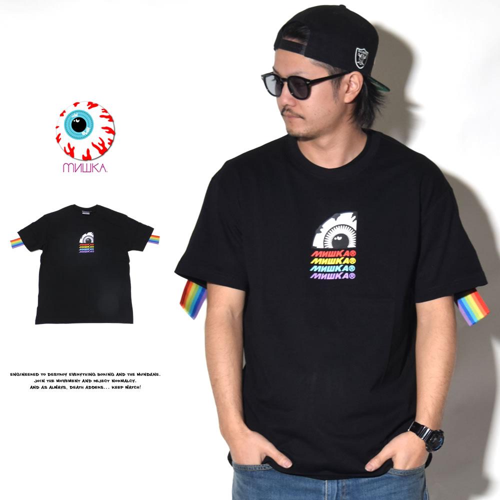 MISHKA ミシカ 半袖Tシャツ MSS190047