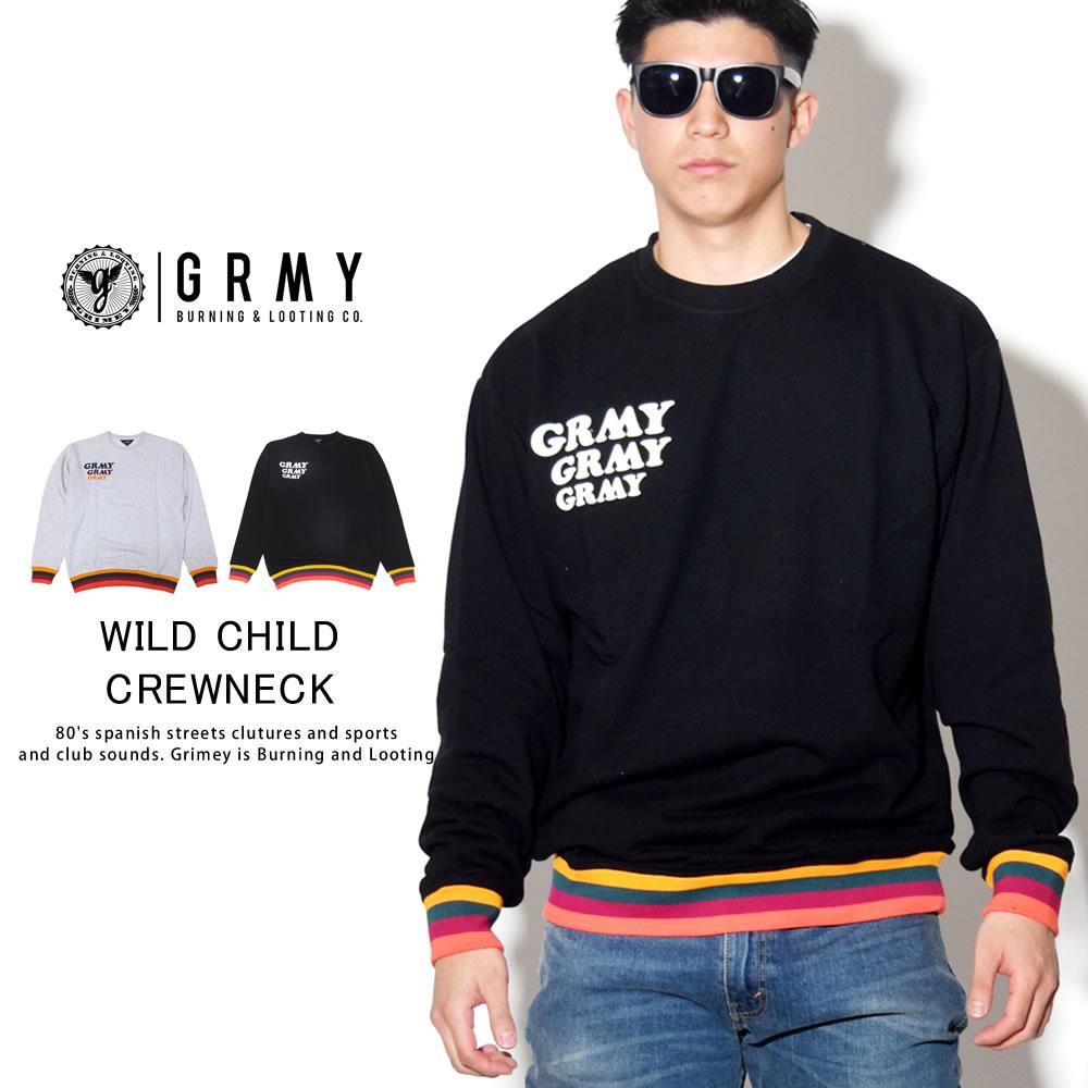 GRIMEY グライミー トレーナー WILD CHILD CREWNECK GSW326