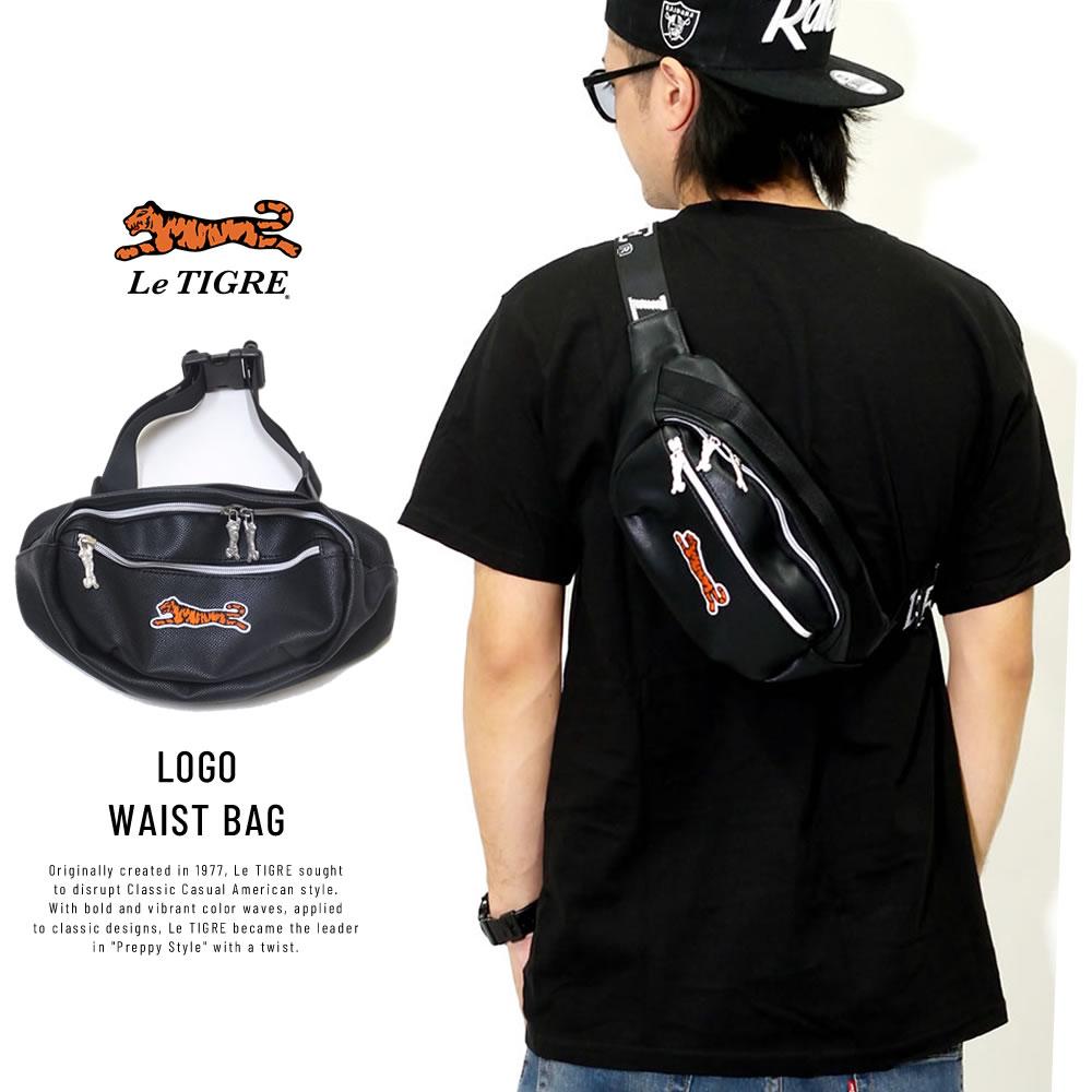 LE TIGRE ルティグレ ウエストバッグ LOGO WAIST BAG LT-63