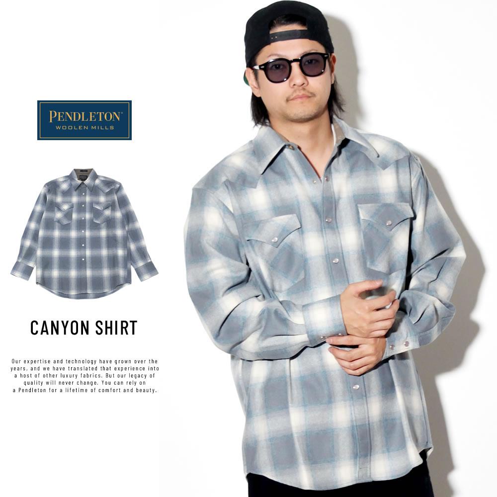 PENDLETON ペンドルトン 長袖ネルシャツ チェック柄 CANYON SHIRT DA085
