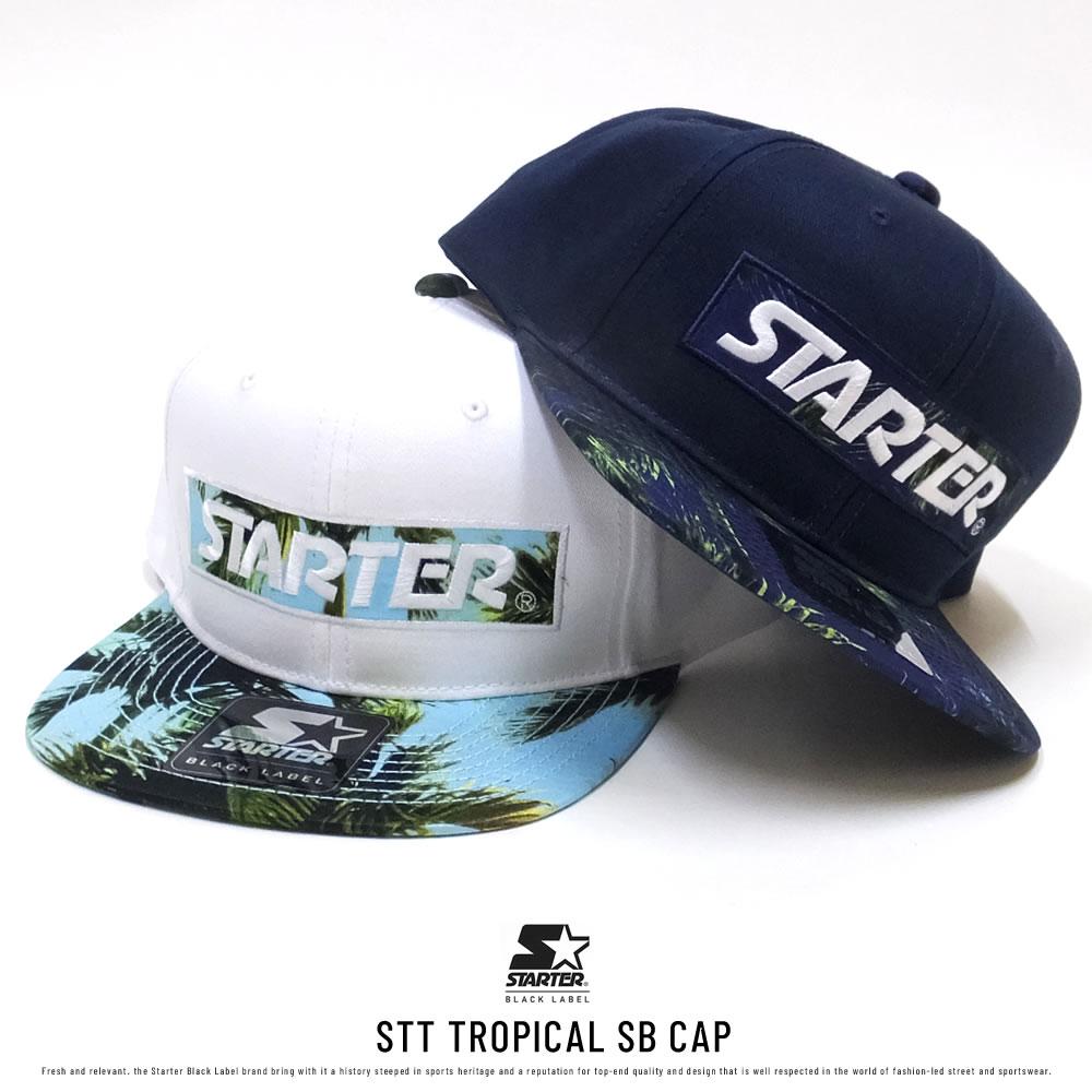 STARTER スターター フラットバイザーキャップ STT TROPICAL SB CAP 196191206