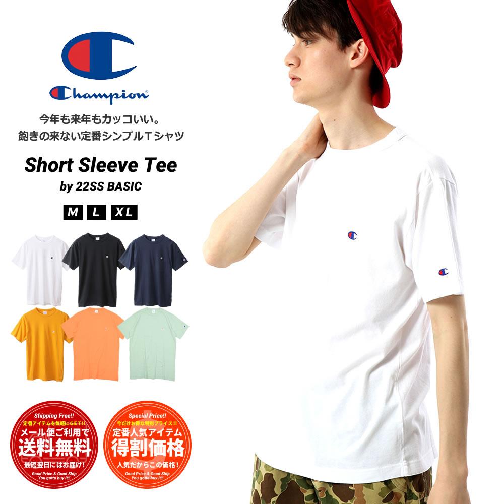 CHAMPION チャンピオン 半袖Tシャツ Cロゴ ワンポイント BASIC T-SHIRT C3-P300