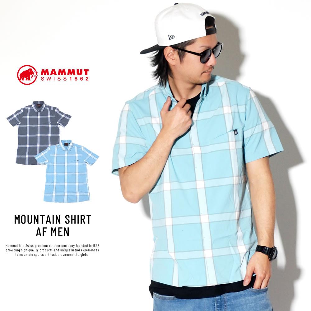 MAMMUT マムート 半袖シャツ MOUNTAIN SHIRT AF MEN 1015-00430