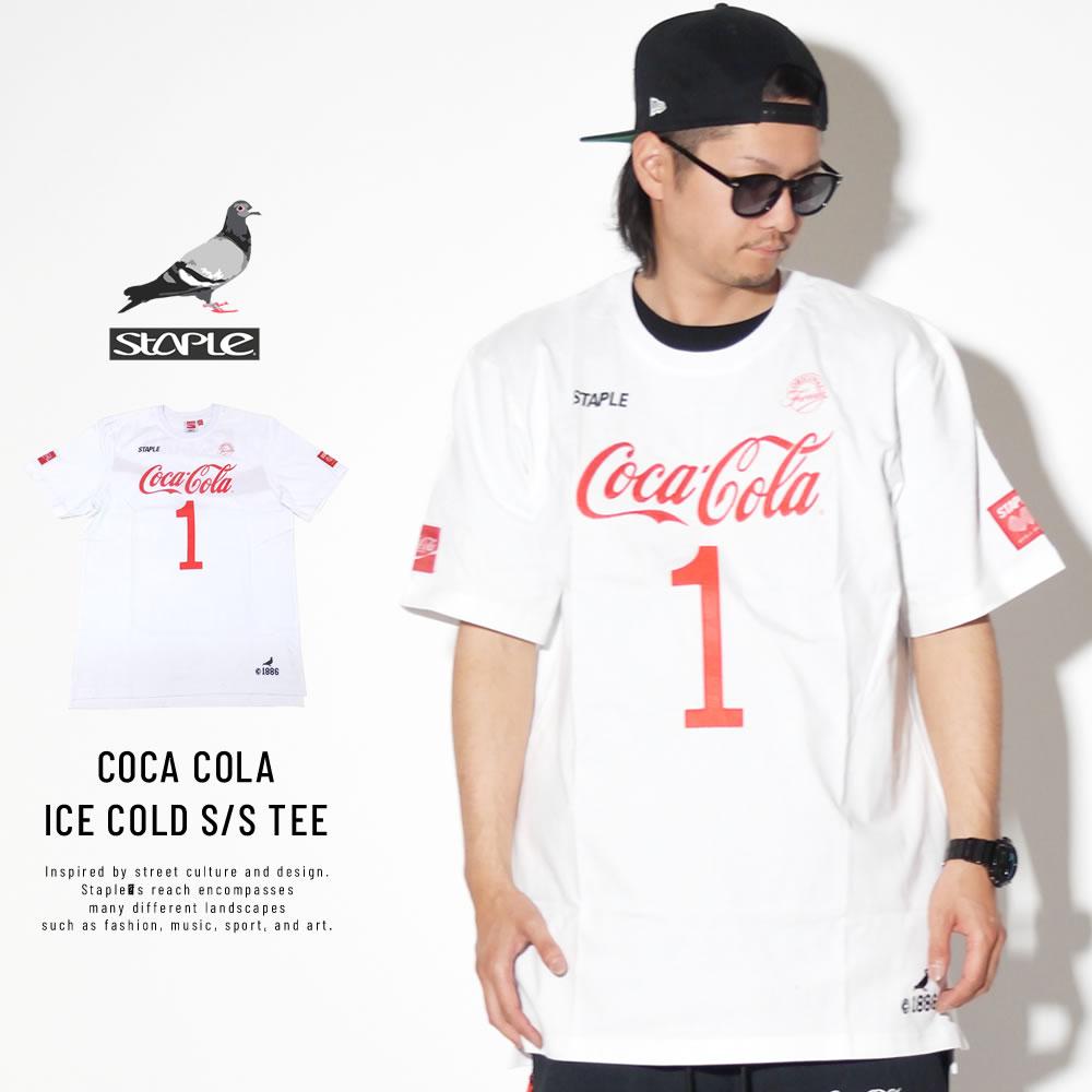 STAPLE ステイプル 半袖Tシャツ COCA COLA ICE COLD S/S TEE 1901C5193