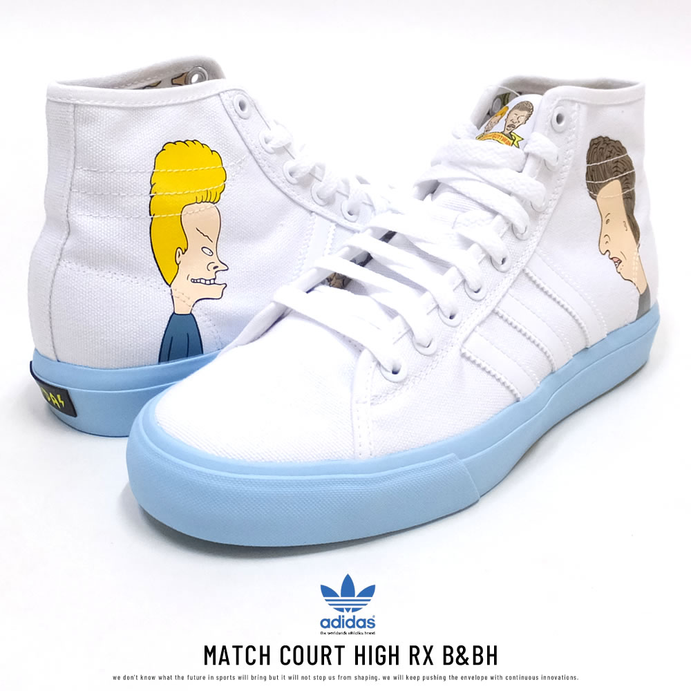 ADIDAS アディダス スニーカー MATCH COURT HIGH RX B&BH DB3379