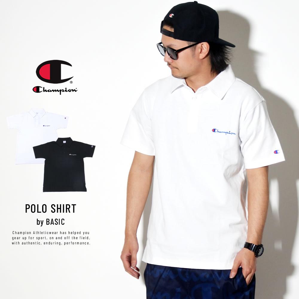 CHAMPION チャンピオン ポロシャツ BASIC POLO SHIRT C3-P306