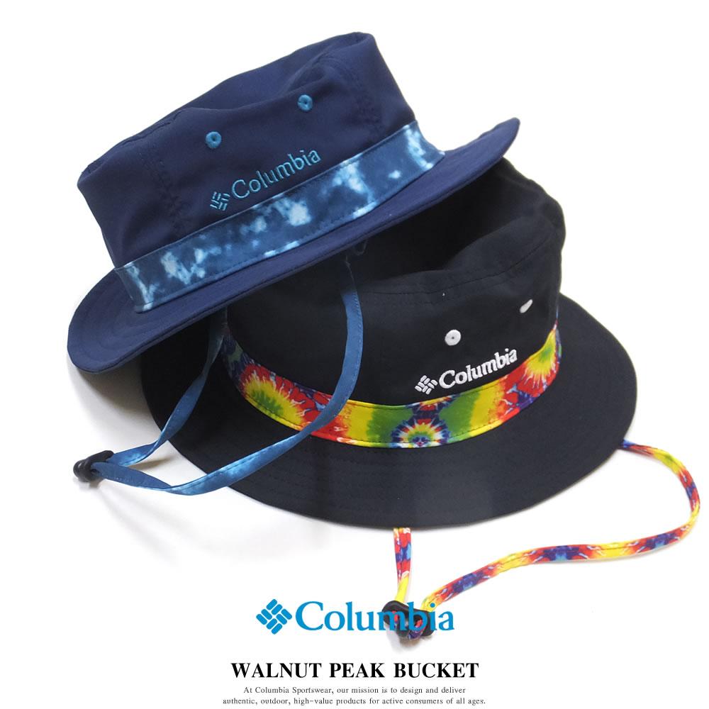 COLUMBIA コロンビア アドベンチャーハット サファリハット WALNUT PEAK BUCKET PU5041