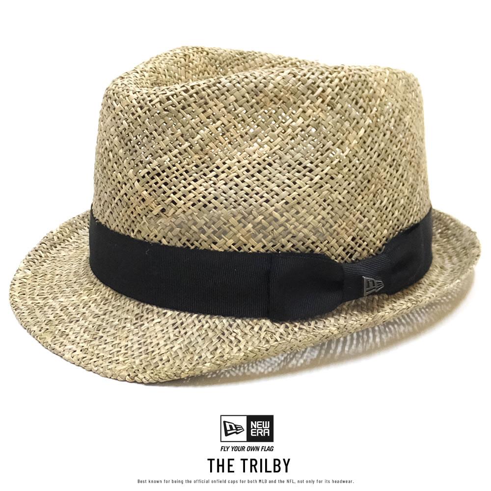 NEW ERA ニューエラ ハット THE TRILBY トリルビー シーグラス ベーシックリボン 11901066