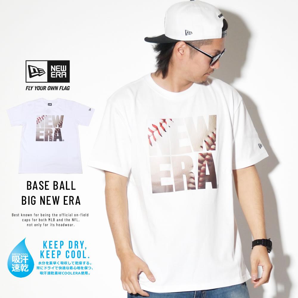 NEW ERA ニューエラ パフォーマンス Tシャツ ベースボール スクエア ニューエラ ホワイト 11901351