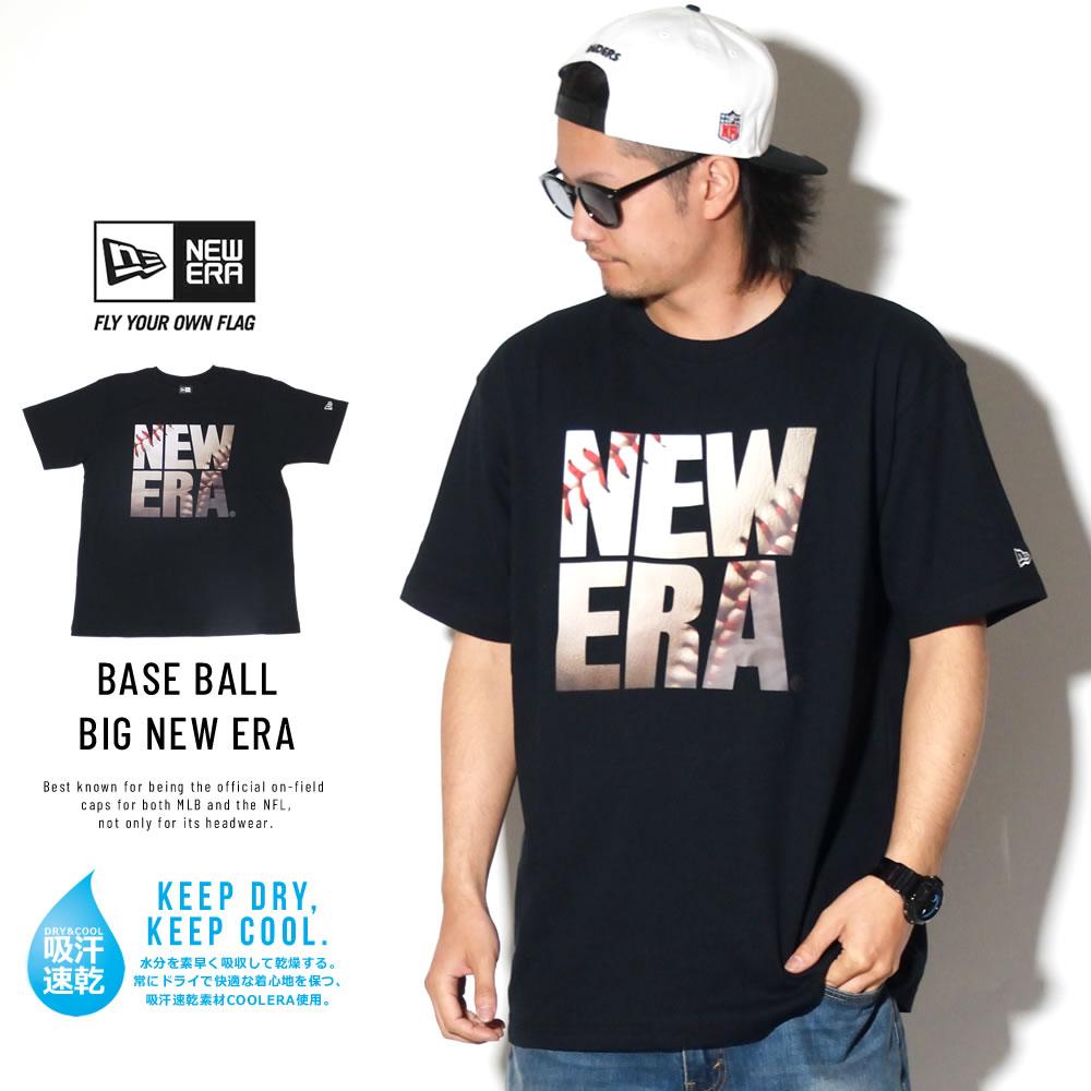 NEW ERA ニューエラ パフォーマンス Tシャツ ベースボール スクエア ニューエラ ブラック 11901352