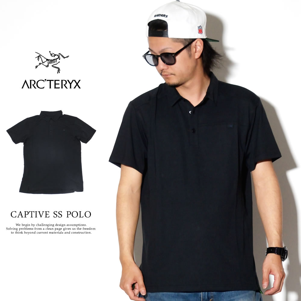 ARC'TERYX アークテリクス ポロシャツ CAPTIVE SS POLO 14450