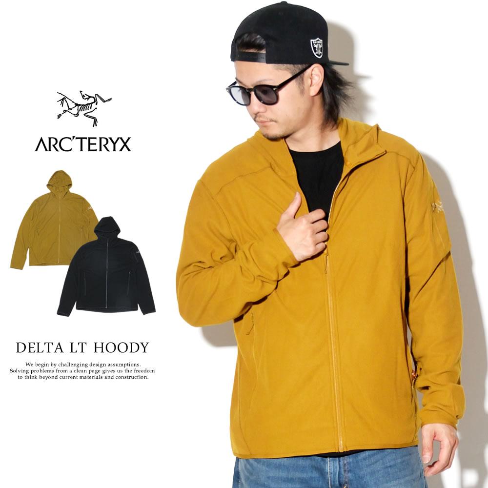 ARC'TERYX アークテリクス ジップパーカー DELTA LT HOODY 23143