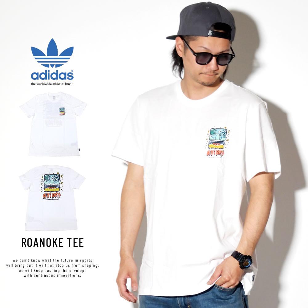 ADIDAS アディダス 半袖Tシャツ ROANOKE TEE DU8350