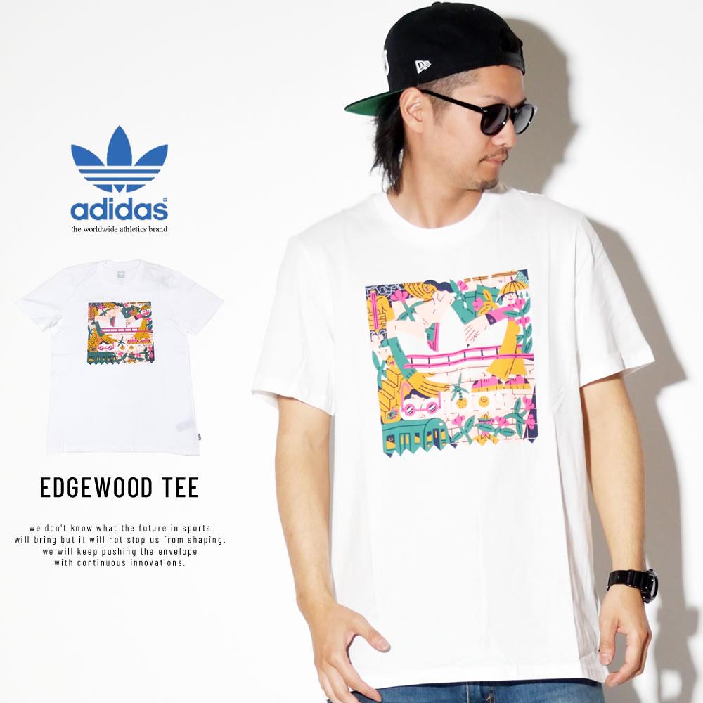 ADIDAS アディダス 半袖Tシャツ EDGEWOOD TEE DU8362
