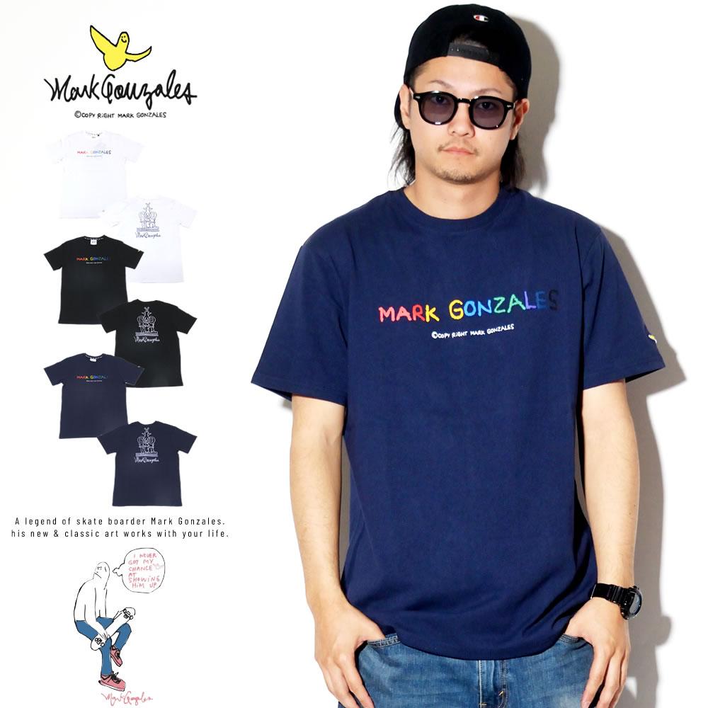 MARK GONZALES マークゴンザレス 半袖Tシャツ 2G7-4324