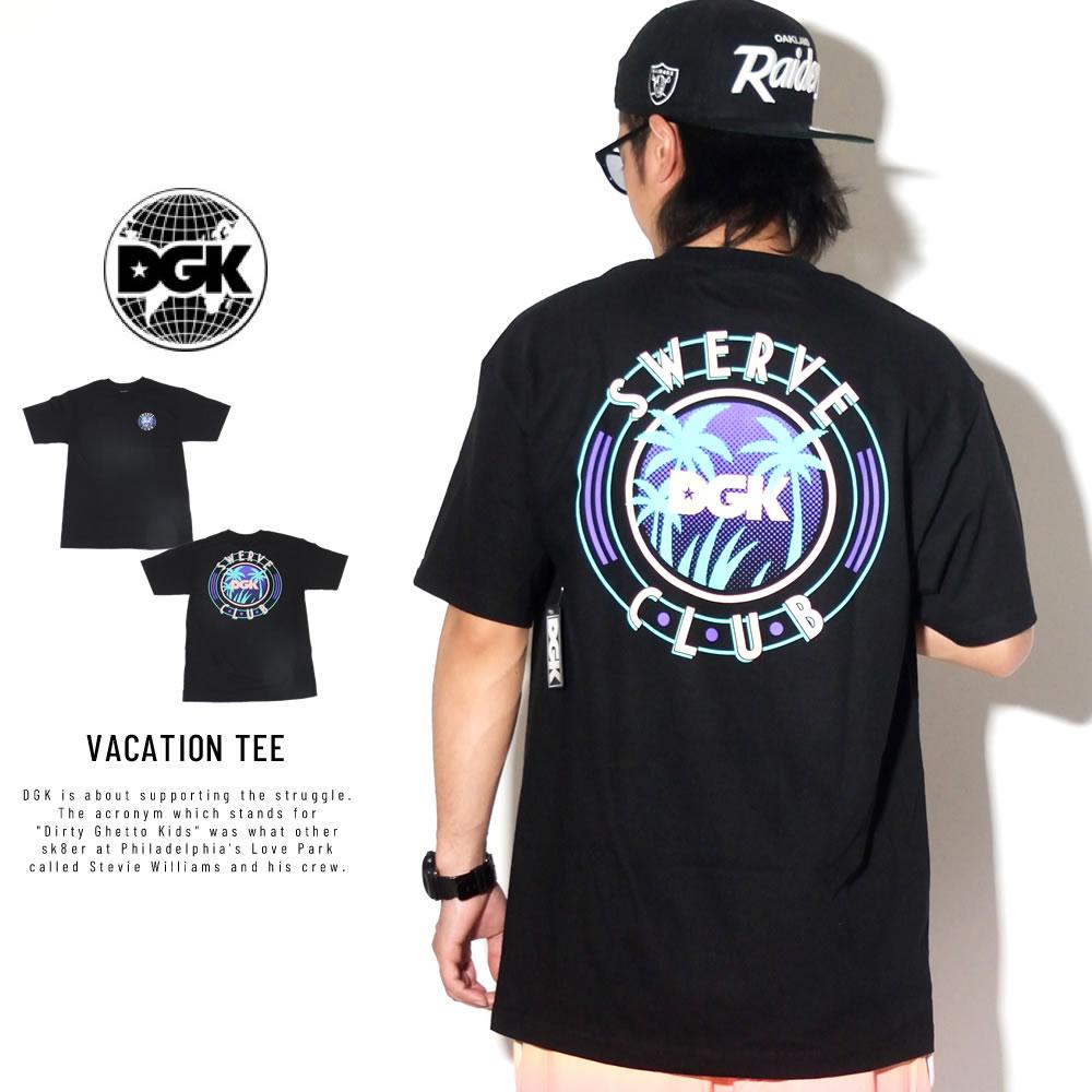 DGK ディージーケー 半袖Tシャツ VACATION TEE PTM-1443