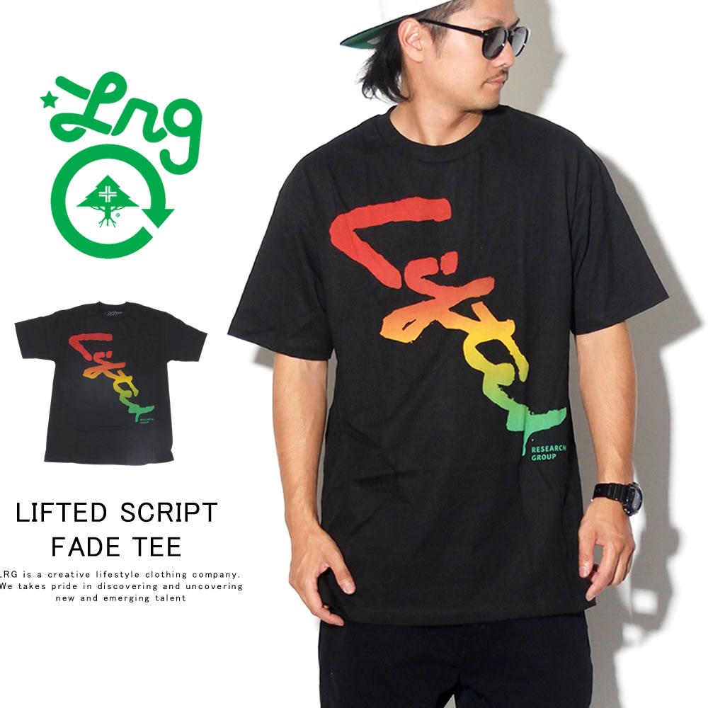 LRG エルアールジー 半袖Tシャツ LIFTED SCRIPT FADE TEE F191027