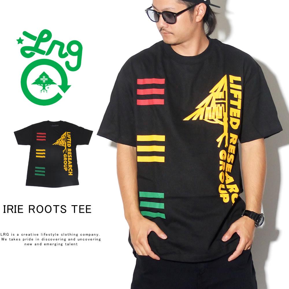 LRG エルアールジー 半袖Tシャツ IRIE ROOTS TEE F191028
