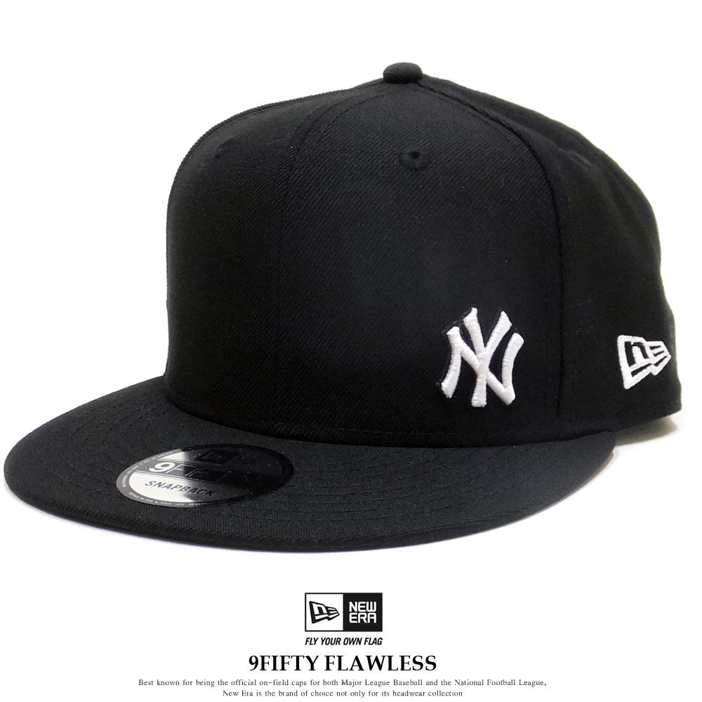 NEW ERA ニューエラ フラットバイザーキャップ 9FIFTY ニューヨーク・ヤンキース フローレス ブラック × ホワイト 12028762