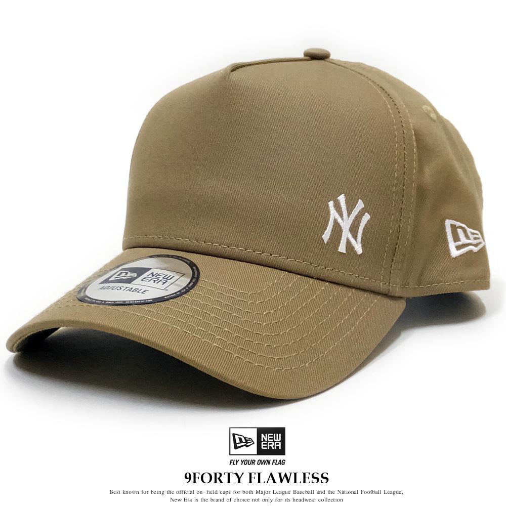 NEW ERA ニューエラ カーブバイザーキャップ 9FORTY A-Frame ニューヨーク・ヤンキース フローレス カーキ × ホワイト 12028770