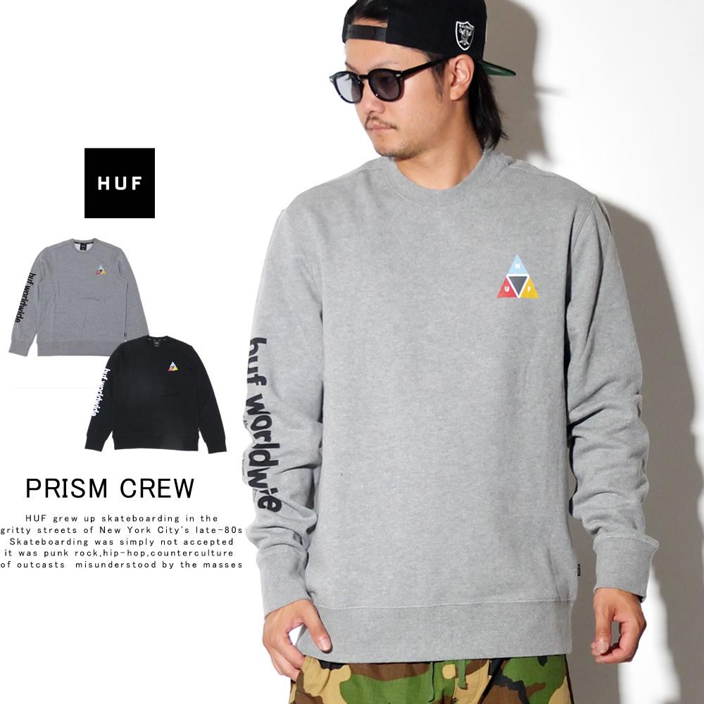 HUF ハフ トレーナー PRISM CREW PF00173