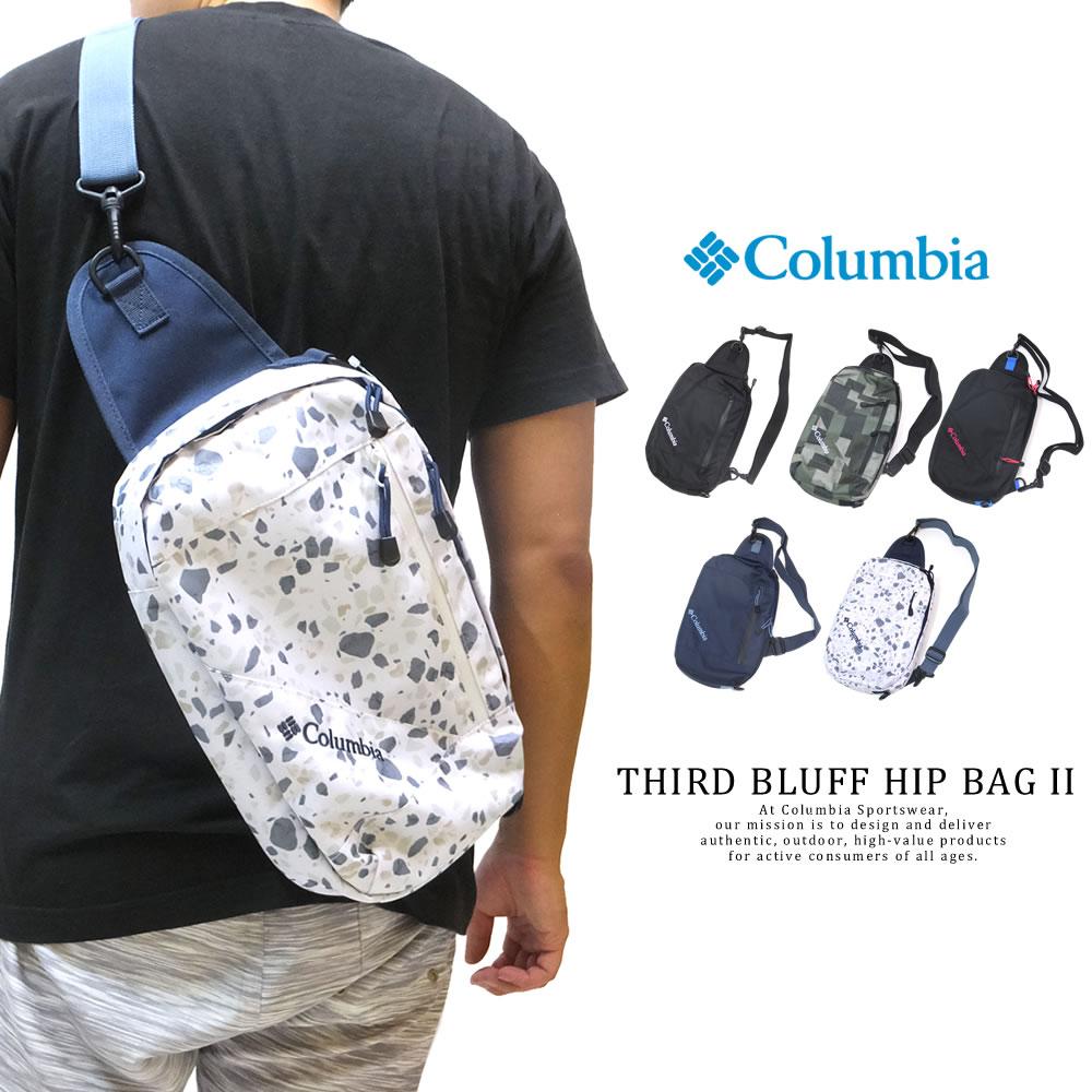 COLUMBIA コロンビア ボディバッグ PRICE STREAM 2WAY BAG PU8236