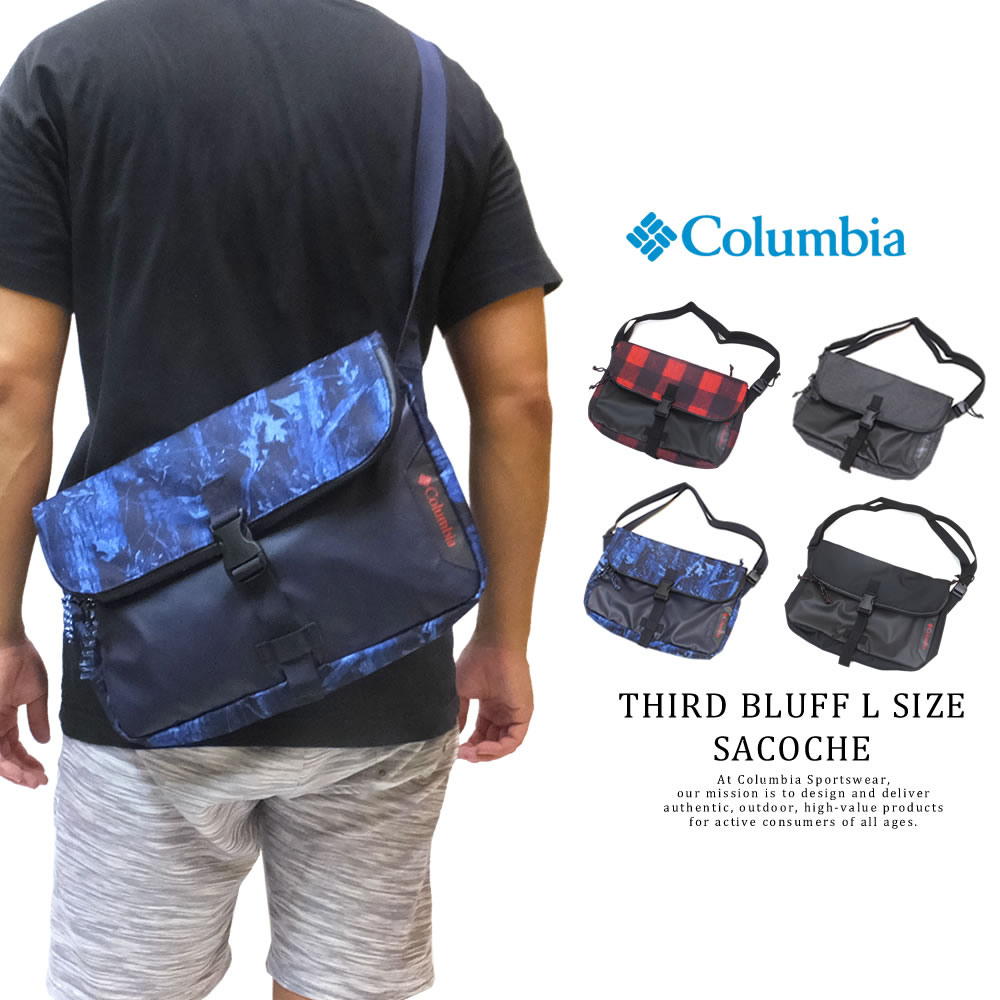 COLUMBIA コロンビア サコッシュ THIRD BLUFF L SIZE SACOCHE PU8328