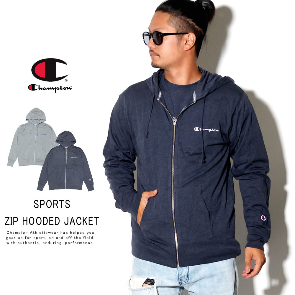 CHAMPION チャンピオン ジップパーカー SPORTS ZIP HOODED JACKET C3-PS410