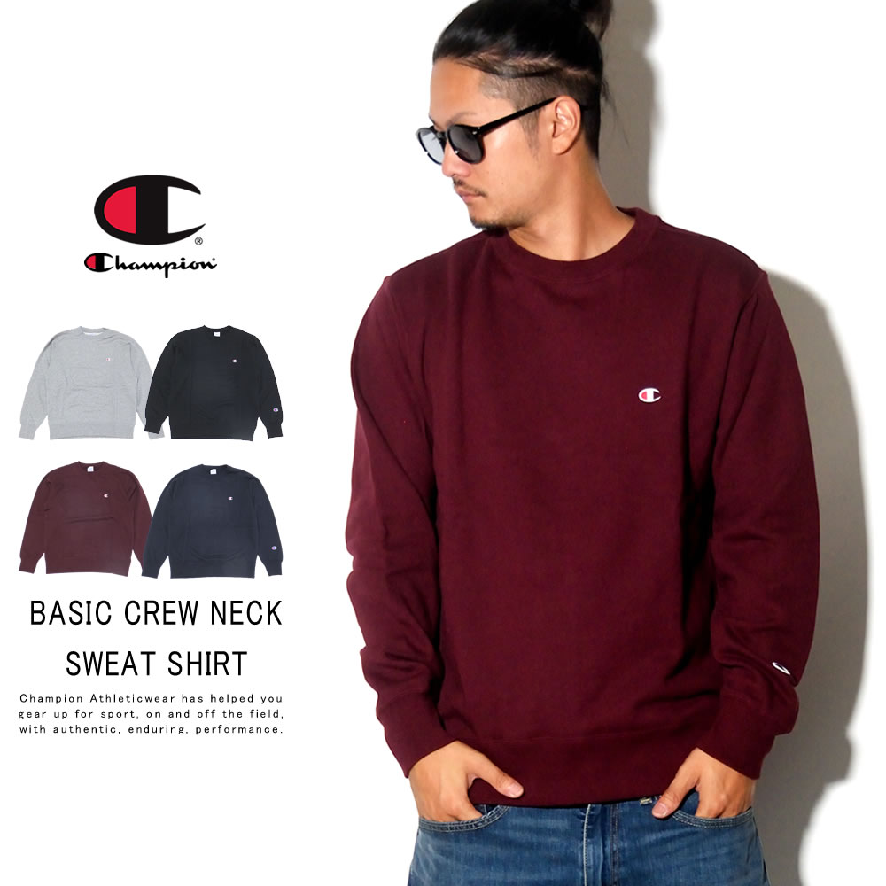 CHAMPION チャンピオン トレーナー BASIC CREW NECK SWEAT SHIRT C3-Q001