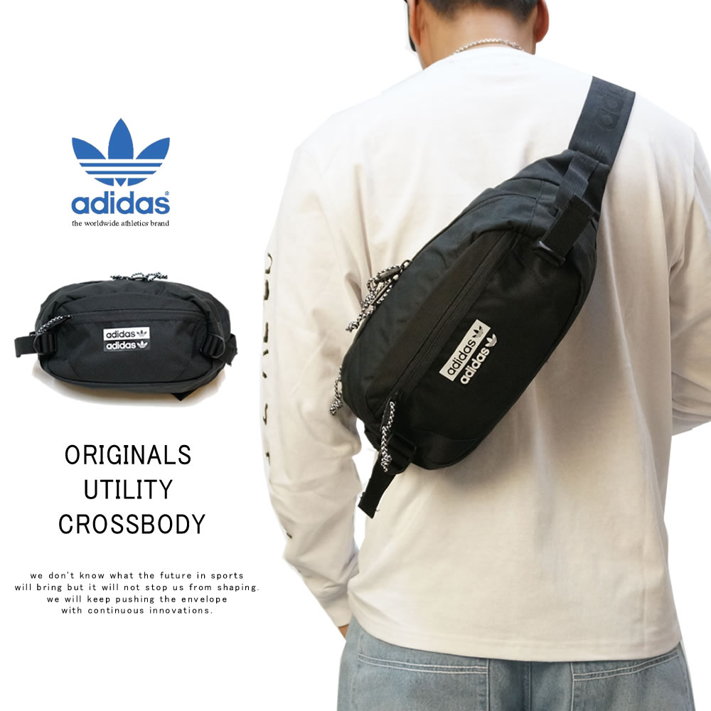 ADIDAS アディダス ウエストバッグ ORIGINALS UTILITY CROSSBODY CL5458