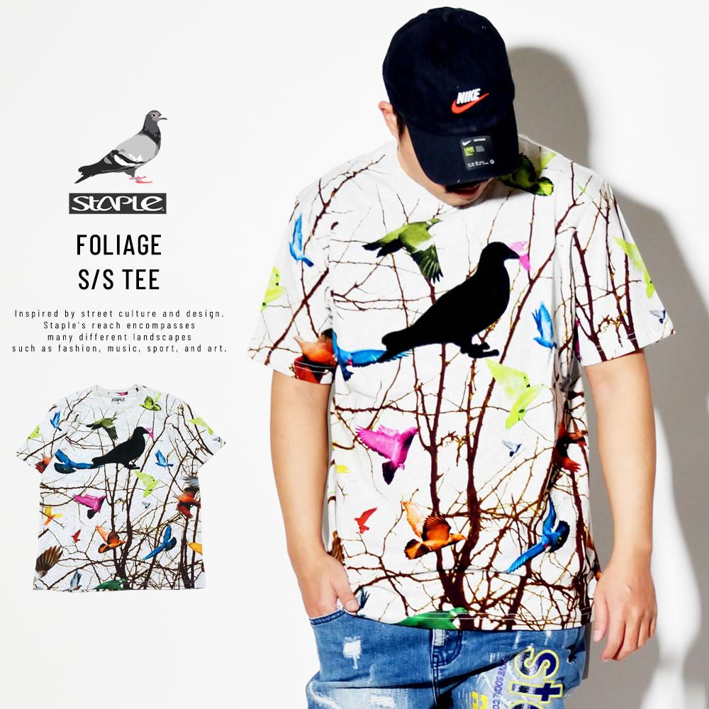 STAPLE ステイプル 半袖Tシャツ FOLIAGE S/S TEE 1910C5673
