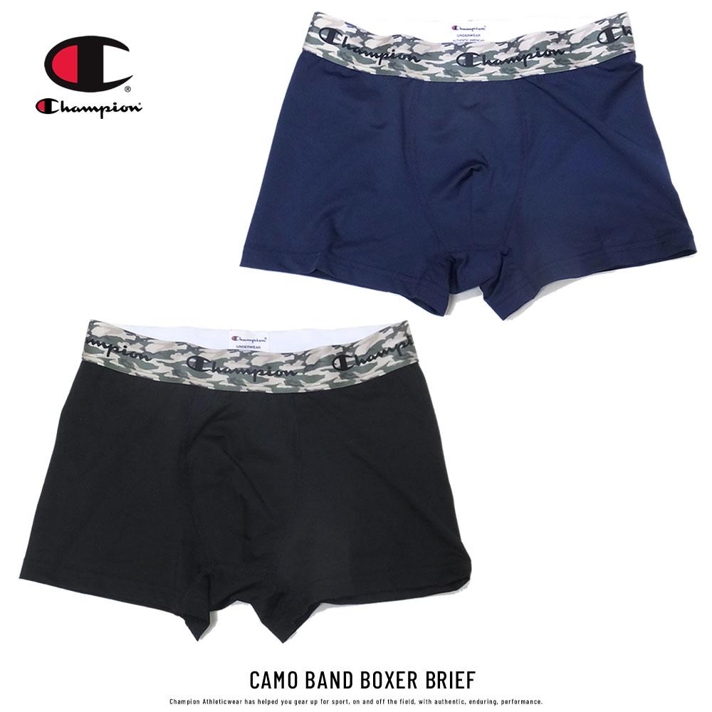 CHAMPION チャンピオン ボクサーパンツ ウエストバンドカモ柄 CAMO BAND BOXER BRIEF CM6-P203