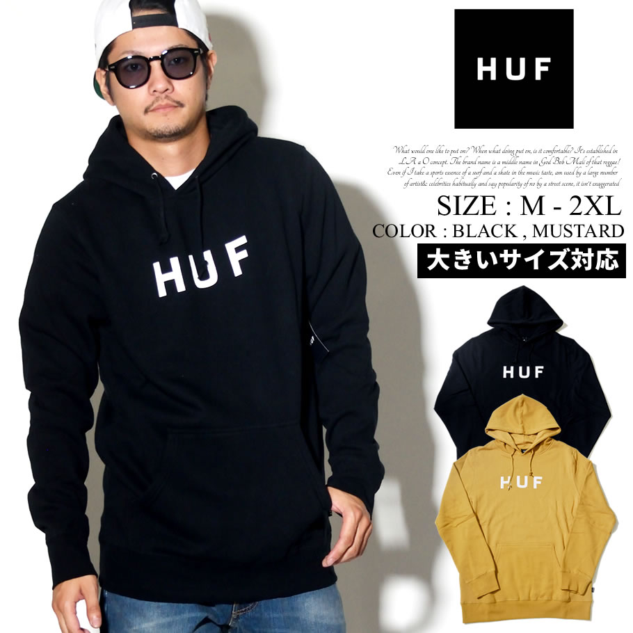 HUF ハフ プルオーバーパーカー メンズ ロゴ スケーター ストリート系 ファッション 服 通販 PF00099 FHPT016
