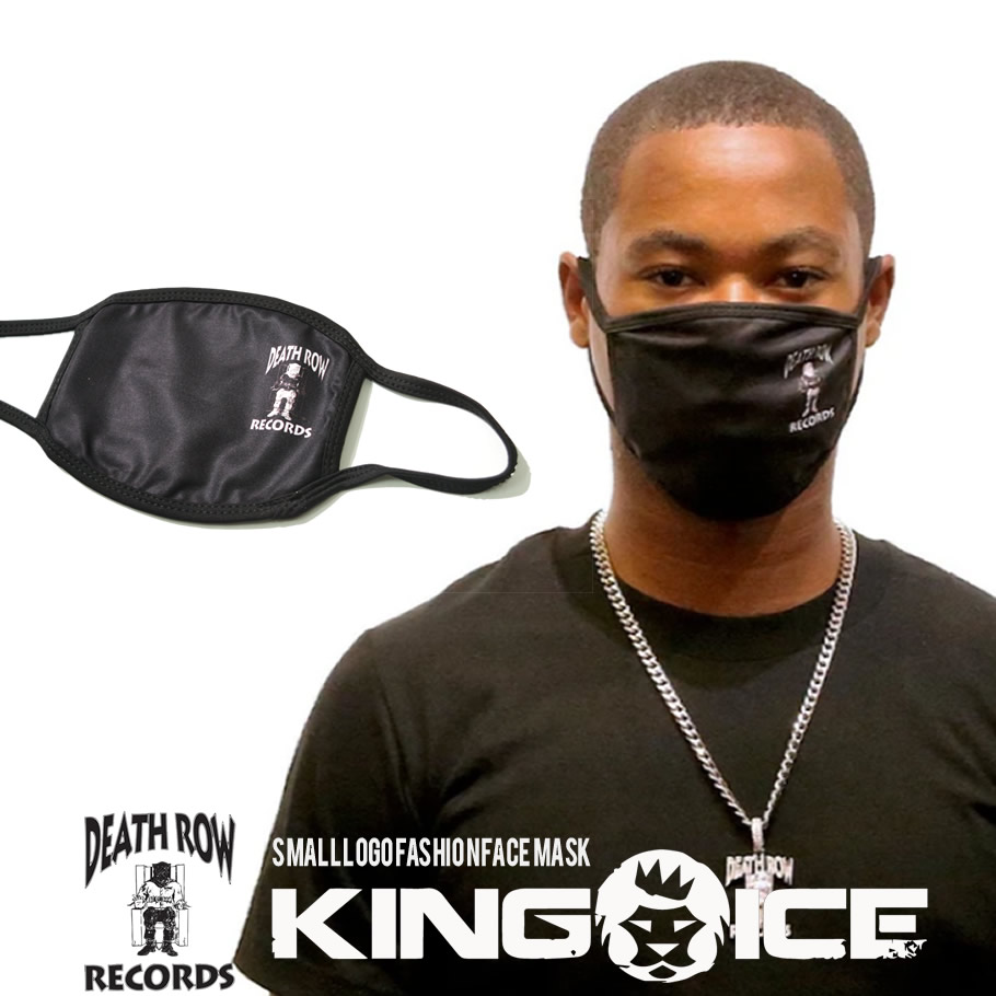 KING ICE X DEATH ROW RECORDS キングアイス デス・ロウ・レコード マスク SMALL LOGO FASHION FACE MASK MSK14004 kiat090