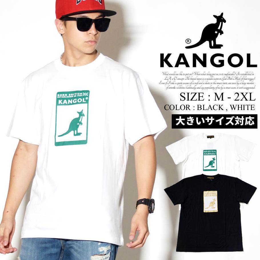 KANGOL カンゴール 半袖 Tシャツ メンズ 大きいサイズ ボックスロゴ ストリート系 ヒップホップ ファッション 服 通販 LCT0014 KLTT004