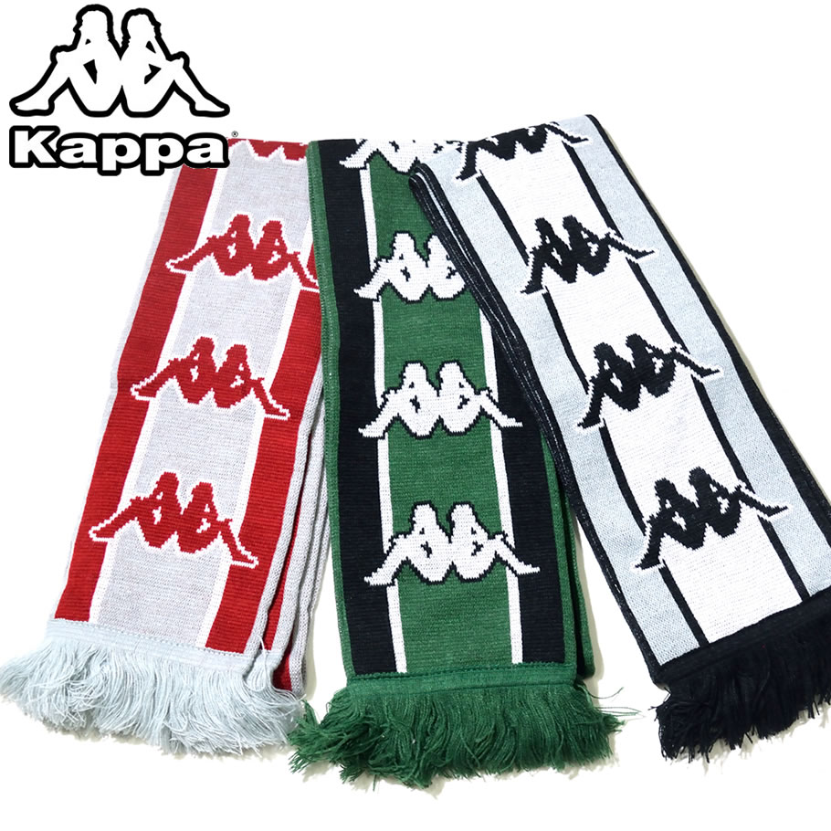 kappa カッパ ロング マフラー メンズ レディース ロゴ スポーツ ストリート系 ヒップホップ ファッション K08Y8VW10 小物 通販 KPAT003