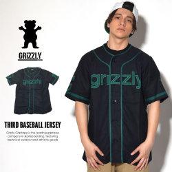 GRIZZLY GRIPTAPE グリズリーグリップテープ ベースボールジャージ THIRD BASEBALL JERSEY GMB1718C01 7V3126