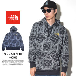 THE NORTH FACE ザ・ノースフェイス プルオーバーパーカー ALL-OVER PRINT HOODIE (NF0A35PR3GE)
