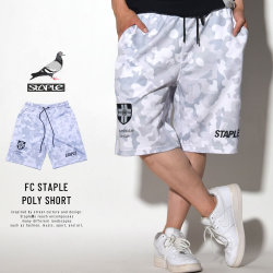 STAPLE ステイプル ゲームショーツ FC STAPLE POLY SHORT (1804B4740)