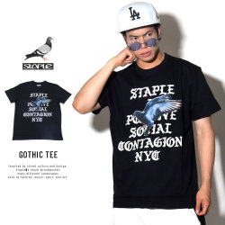 STAPLE ステイプル 半袖Tシャツ GOTHIC TEE (1805C4797)