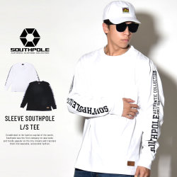 SOUTH POLE サウスポール 長袖Tシャツ SLEEVE SOUTHPOLE L/S TEE 11831001