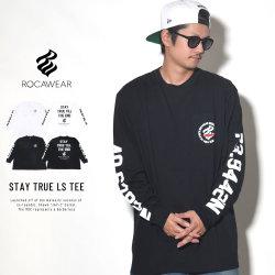 ROCAWEAR ロカウェア 長袖Tシャツ STAY TRUE LS TEE RW183T09