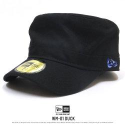 NEW ERA ニューエラ ワークキャップ WM-01 ダックブラック×ブルーカモフラッグ 11838597