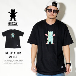 Grizzly Griptape 半袖Tシャツ IRIE SPLATTER S/S TEE GMC1801P01
